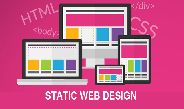HTML/CSS One-Page Static HTML website for your business