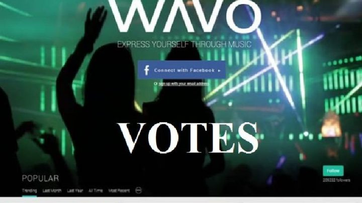 Provide you 100+ Wavo votes for your WAVO. ME Remix contest Different USA ips