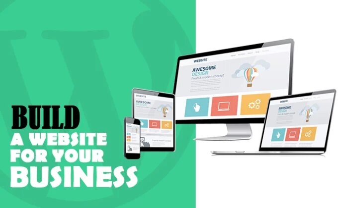 I will build a website for your business