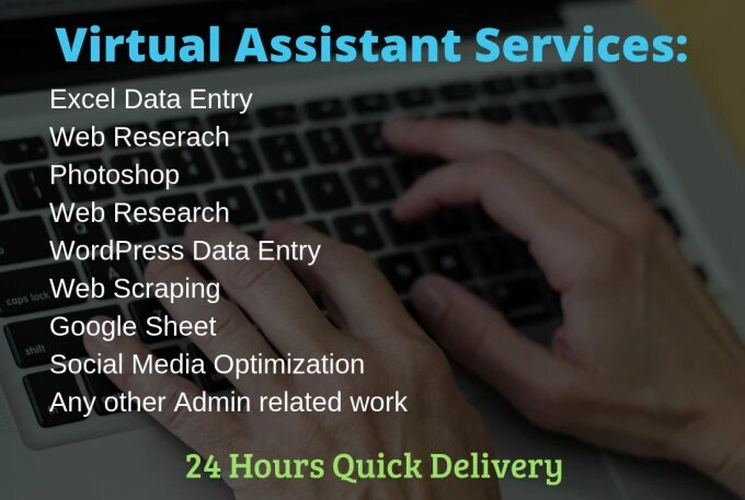 I will do excel data entry and web research