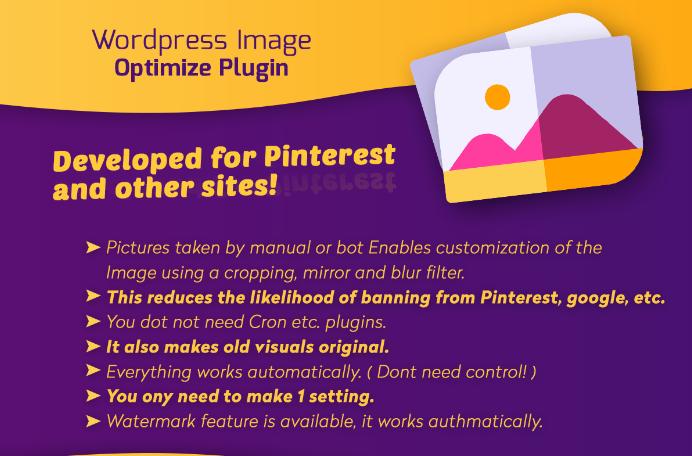 Wordpress Image Customization/Optimization + Watermark Plugin