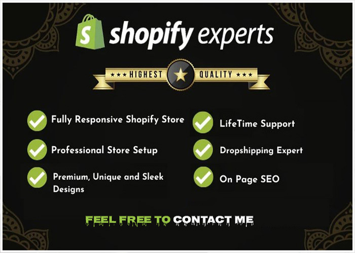 design Professional Responsive shopify website or dropshipping store