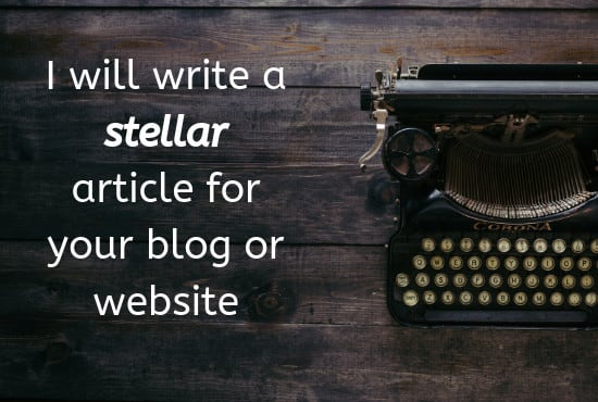 SEO blog post or article in 24 hours