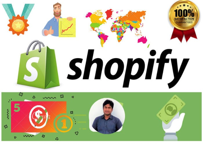 I will upload 100 products to your shopify store