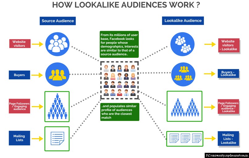 i will provide lookalike audience list for marketing