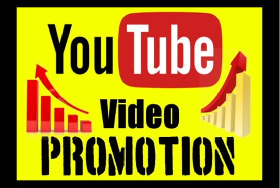 Organic fast Youtube video promotion with social media google ranking marketing
