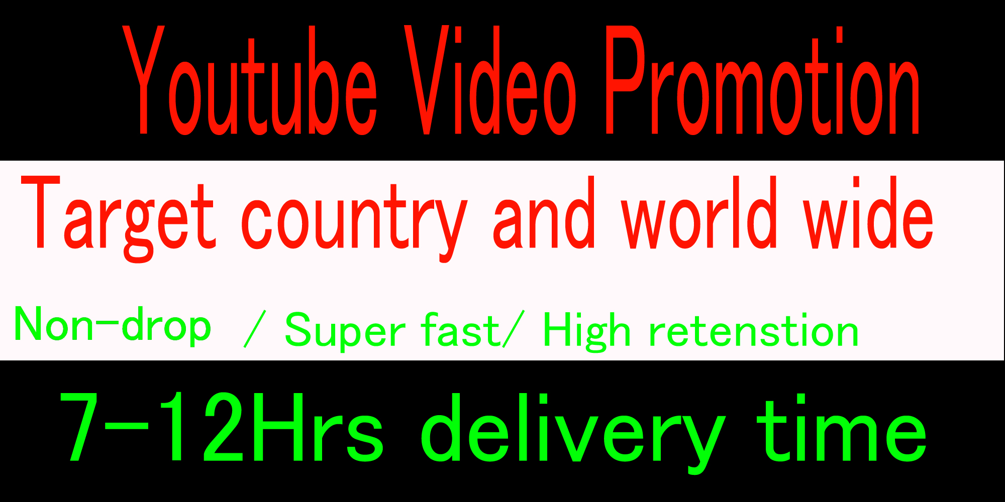 Life time Organic High retention Youtube music video promotion from USA ,UK,Italy,Canada, australia,