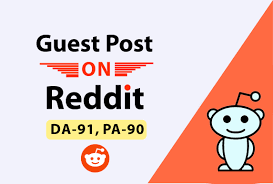 I will Provide You High Quality Guest Post Backlinks From Reddit