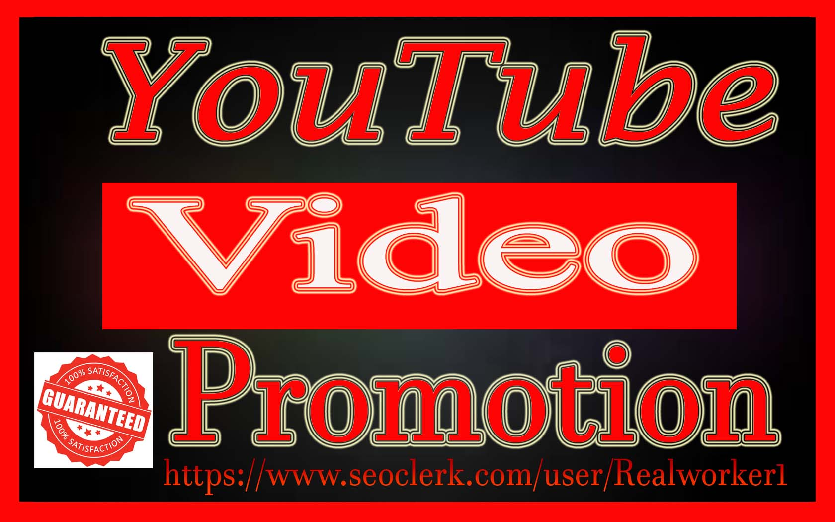 Natural YouTube Video promotion Super Fast