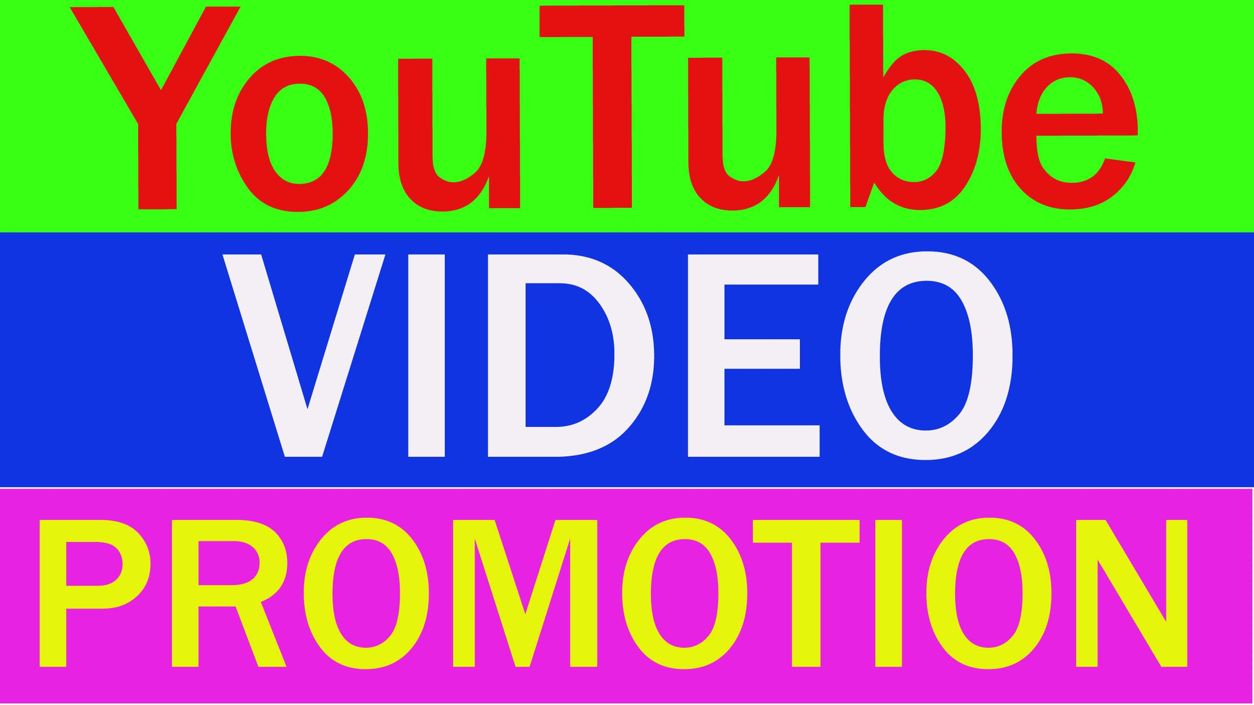 I will Do Fast Social Media Video OR Chanel Promotion