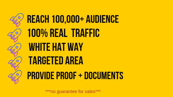 Reach 100,000 audience & Boost your website or af...