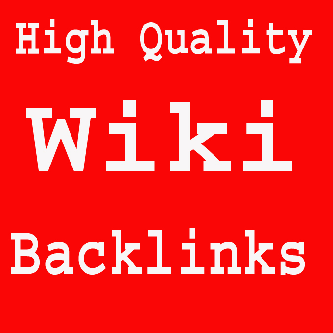 I will Create High Authority Wikipedia Backlinks for your website