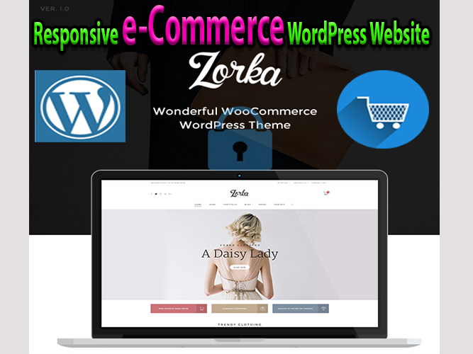 I will Create eye-catching WordPress eCommerce website