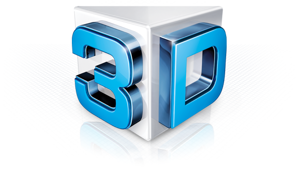 I will convert your 2D logo into 3D using element 3D