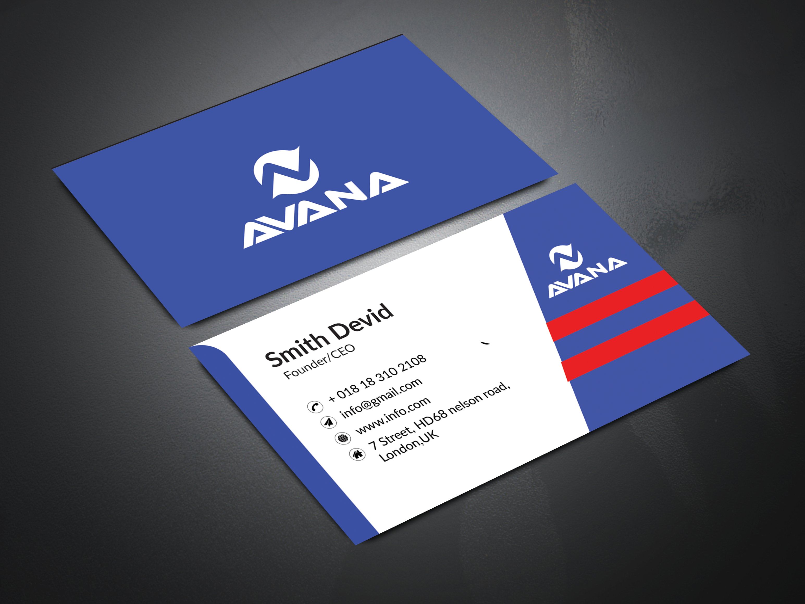 I'll create an attractive business card