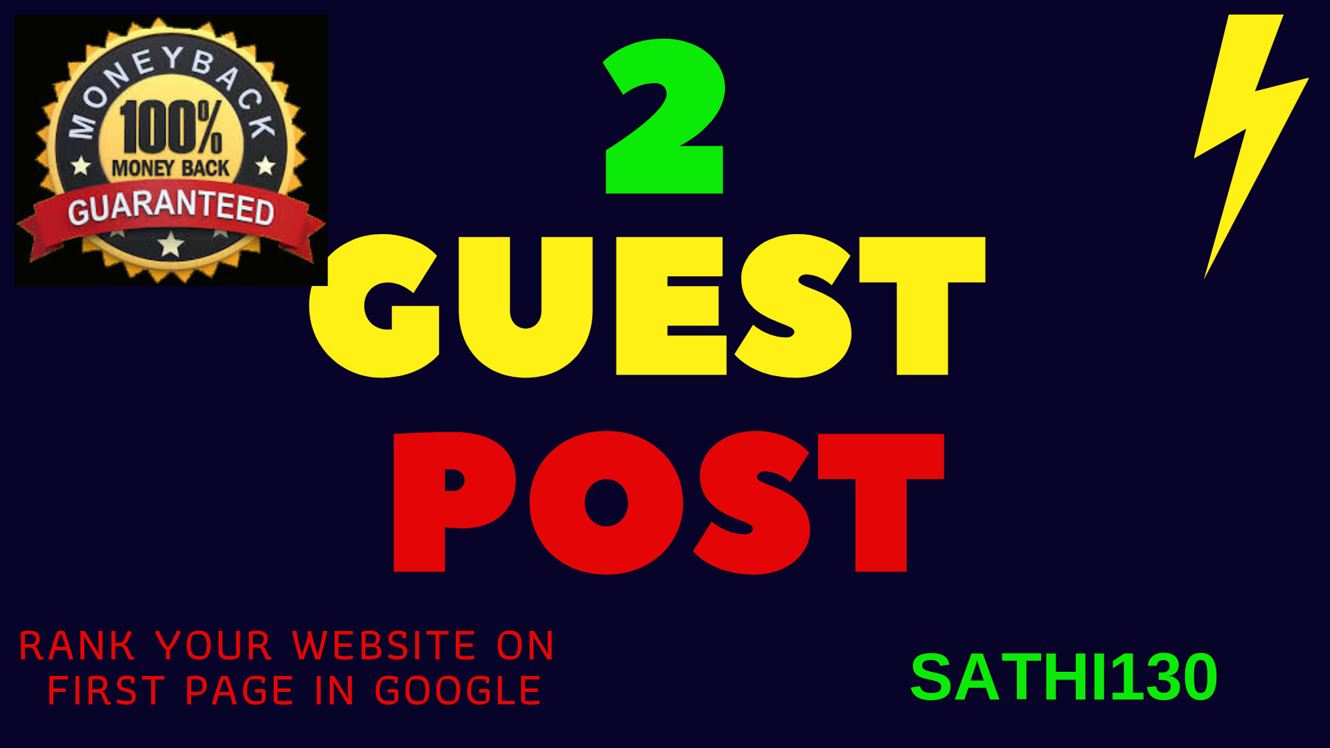 Write and Submit your 2 guest posts to kinja behance in the most popular websites
