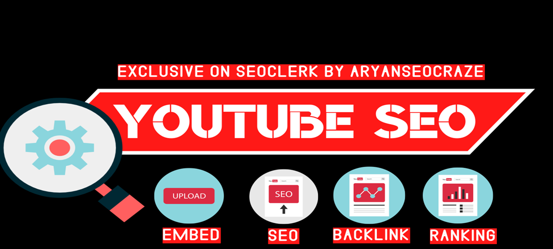 I will boost your youtube video ranking with white hat seo Link building,  Bcaklink techique