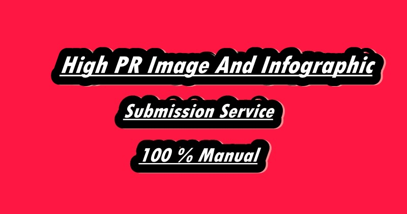 I Will Do 30 High PR Image Or Infographic Submission