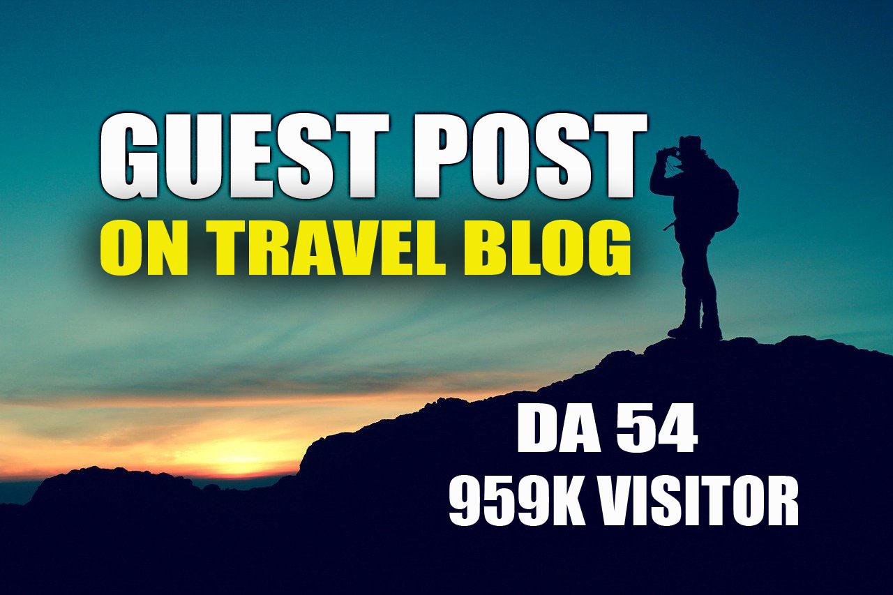 Guest post on High Quality Travel Blog DA54