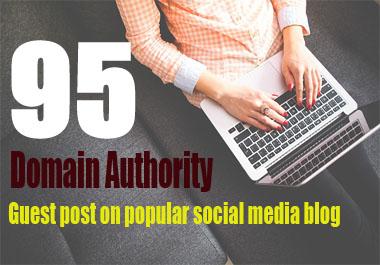 Publish a Article on Medium Guest Post DA95