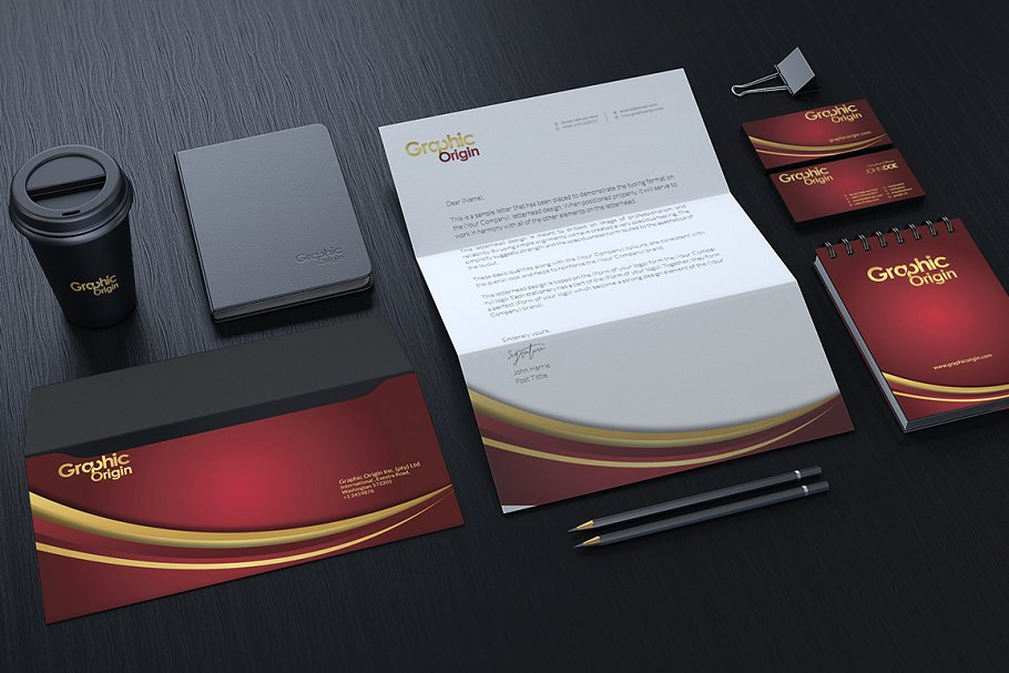 I will Design Professional Letterhead and Business Card