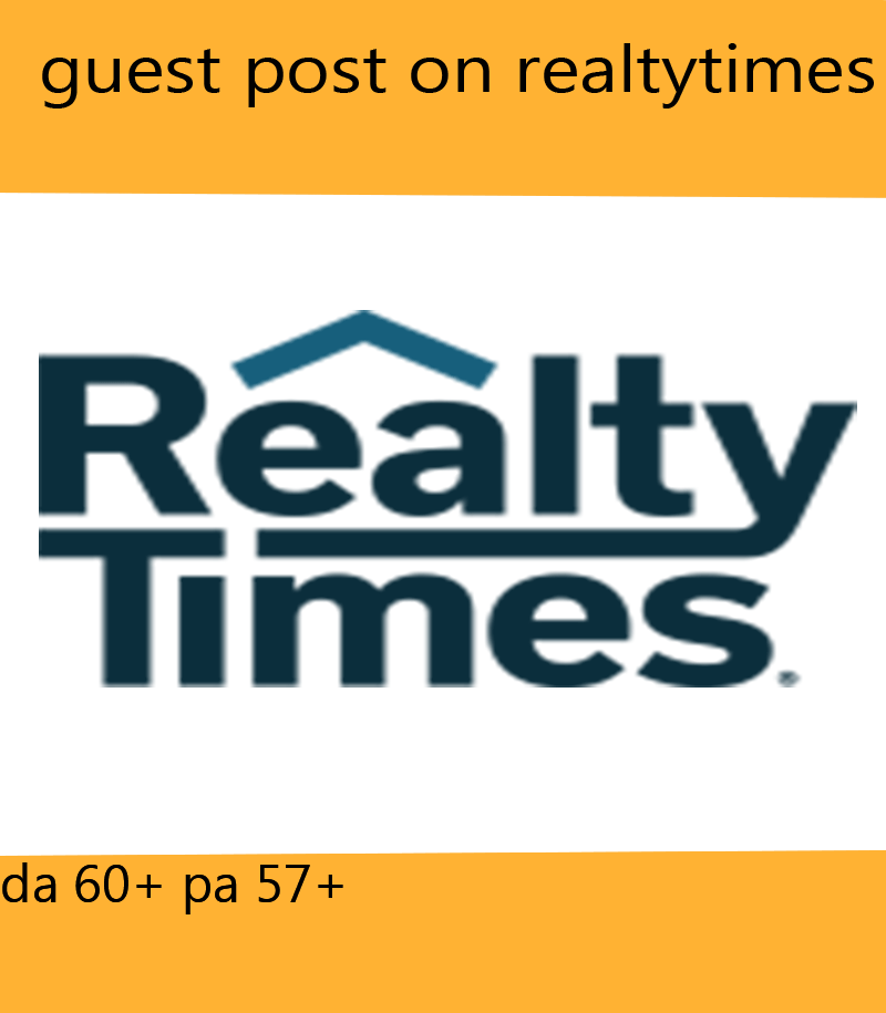I will do guest post on realtytimes in cheap rates