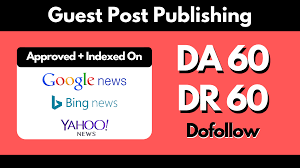publish on DA 64 my google news approved site with dofollow