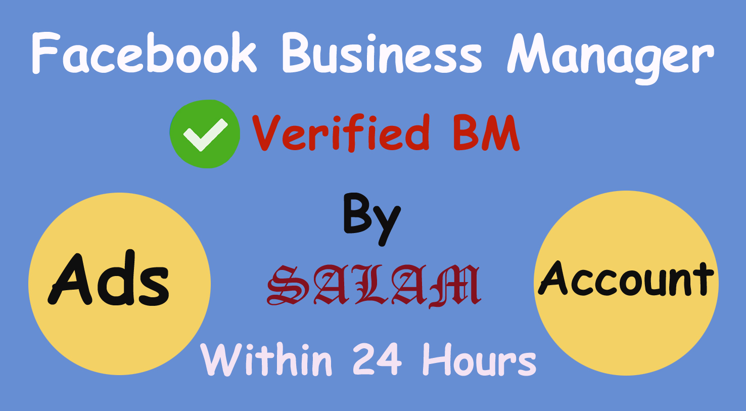 create verified,  non verified facebook business manager
