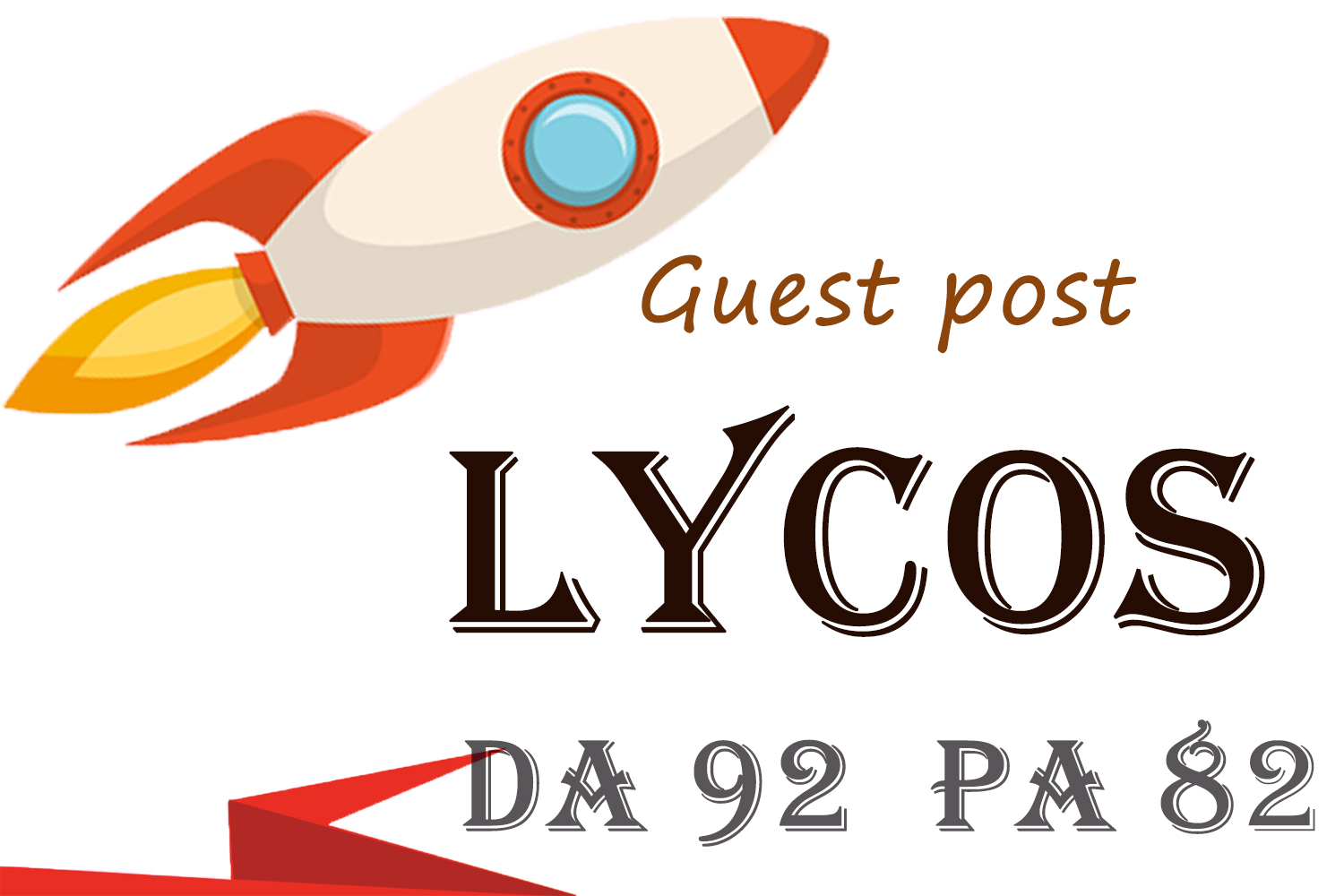 Guest Post on Lycos. com with high DA 92