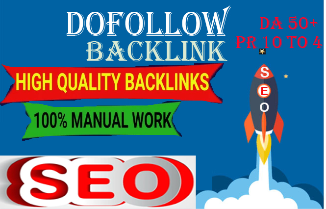 I will create 100 high PR dofollow backlink for google first page