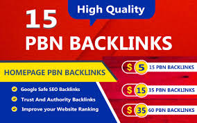 Manual 15 Homepage Pbn Links Da 25+ And Tf 20+ for