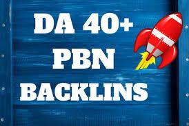 I will create 40 PBN links DA30 to 40 new update SEO backlinks 2019