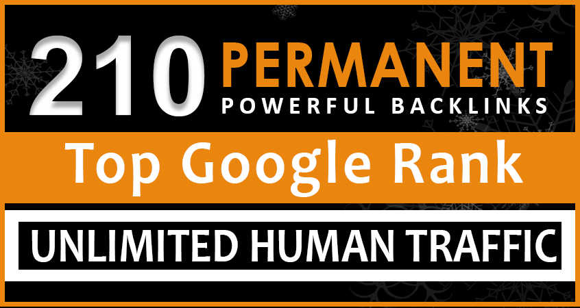 Top Google Rank Higher your Site With My Formidable 210 SEO Backlinks