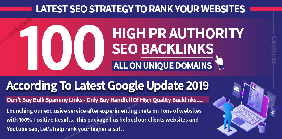 Lightning Boost your Website's Ranking With 100 High Authority Unique Domain Backlinks