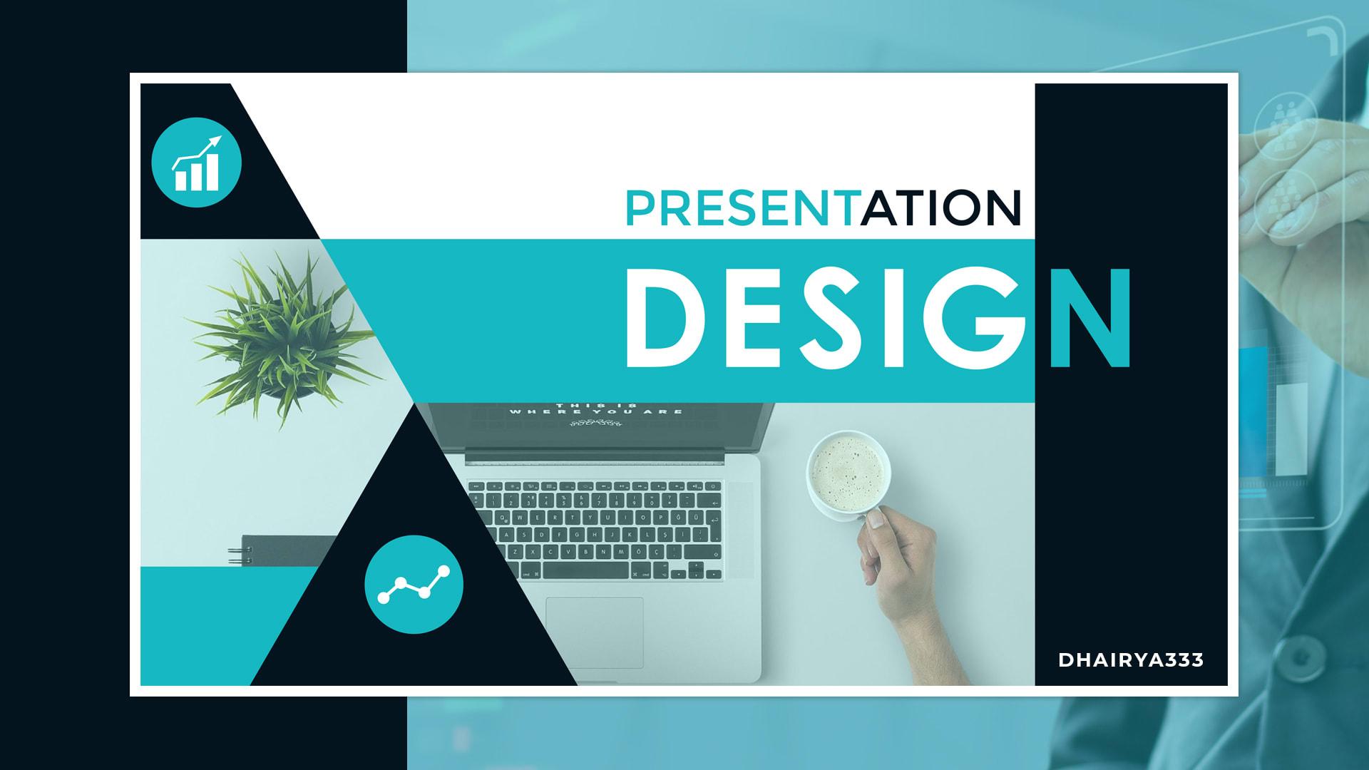 I will do 6 slides powerpoint presentation