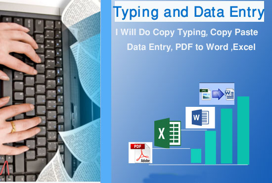 i will do copy paste,  typing work & all kind of data entry work