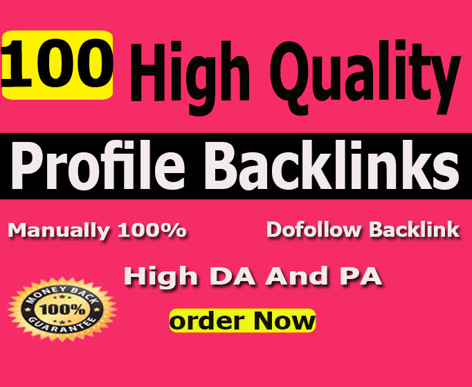 I Will Manually Create 100 Pr9 To Pr6 Authority Profile Backlinks