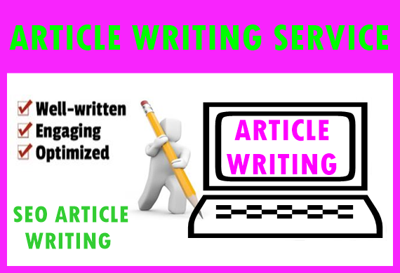 5 Article Writing-Content Writing-Blog Writing each 500 words,  well research and SEO optimized