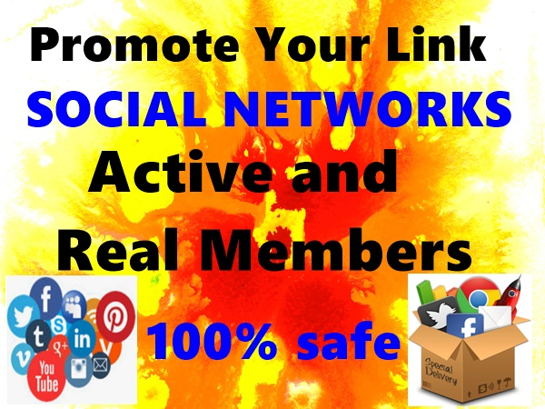 promote anything to Linkedin Twitter tumblr and other 20+ Social Media