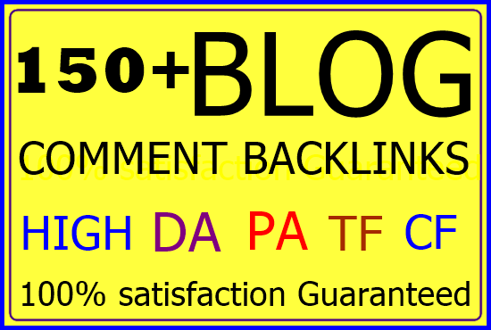 150 Niche Relevant Manually Blog Comment-Top service in Monster Backlinks