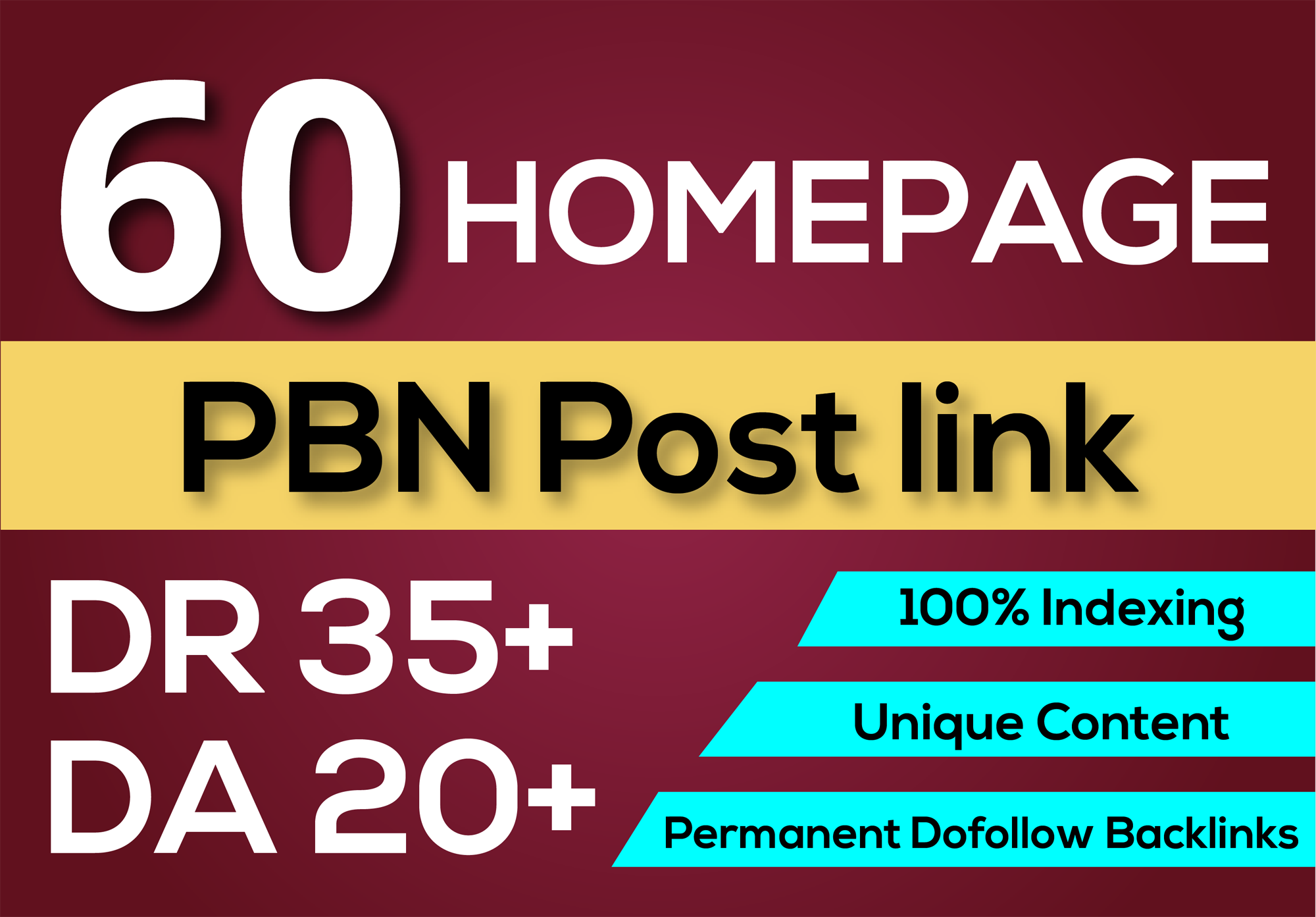 5 PBN Permanent DR 35+ DA 20+ High Quality Dofollow Homepage Backlinks