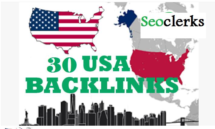 I will manually build 15 USA RP9 + 15 USA EDU/GOV powerful Safe SEO High Pr Backlink