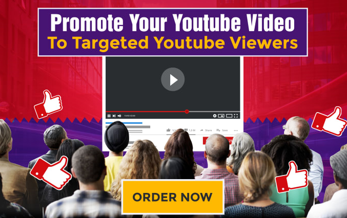 Promote your Youtube video to targeted you tube vs