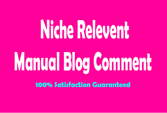 20 Unique Domains Niche Relevant Blog Commenting Seo Backlinks