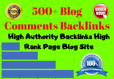 Create 40 do-follow Niche Relevent high authority Blog comments backlinks