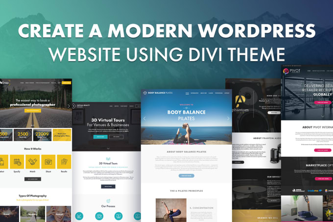 I will be your divi expert with divi theme and builder