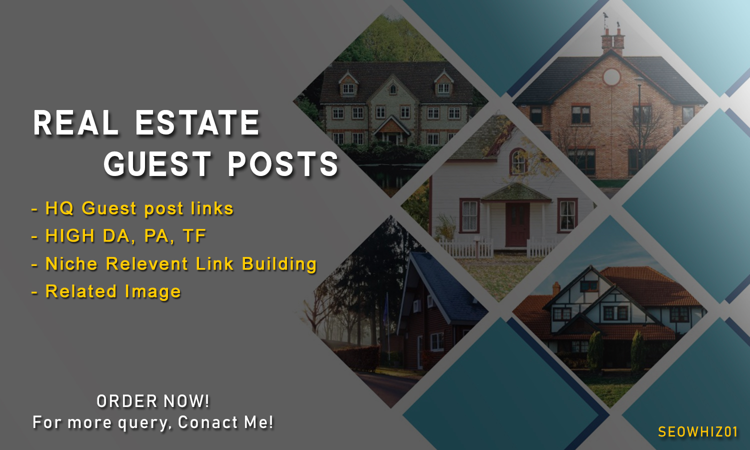 Write and Publish 1 Guest Post on Real Estate Website