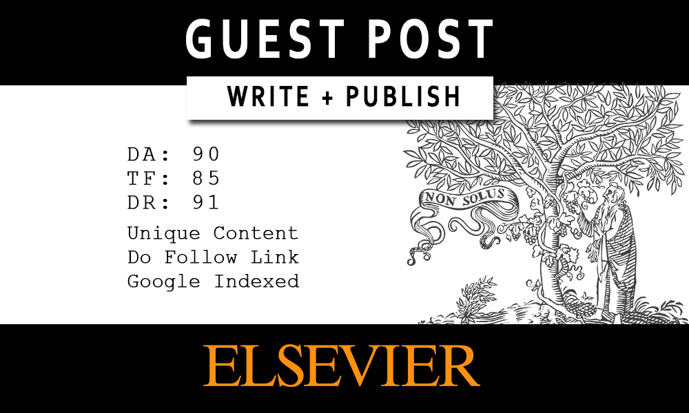 Write and Publish Guest Post - DA 90 & High TF