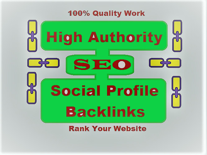 I will create high quality dofollow profile backlinks
