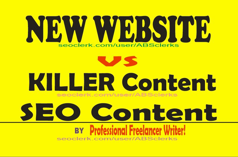 I will write a Killer content for your blog or website